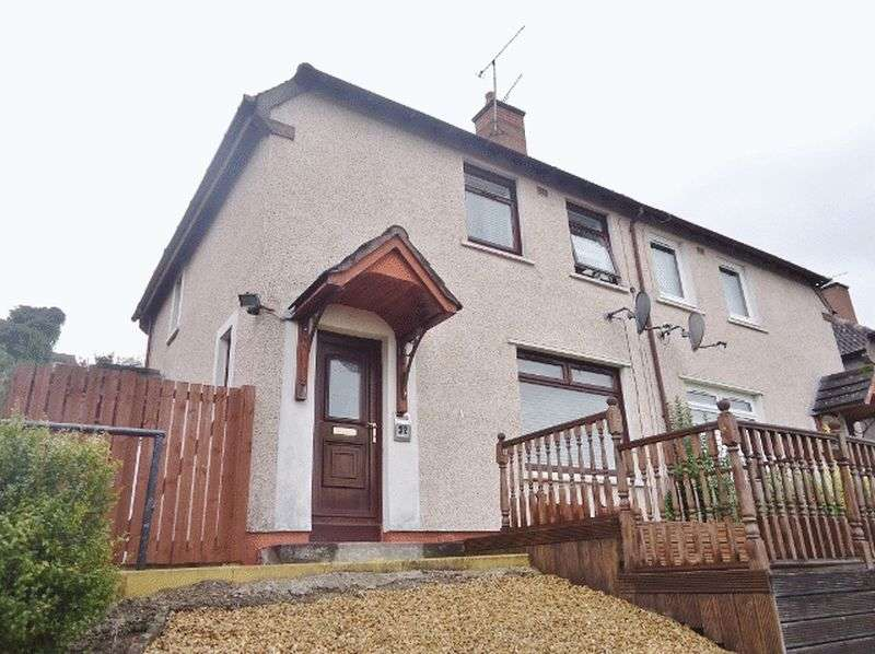 2 Bedrooms Semi Detached House for sale in 32 BRAESIDE, SAUCHIE