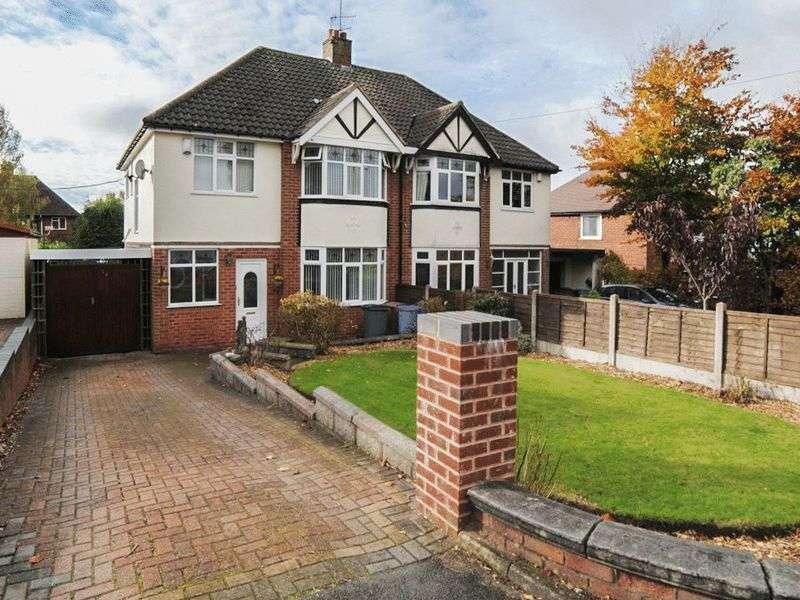 3 Bedrooms Semi Detached House for sale in Cranworth Grove, Lightwood, Stoke-On-Trent, ST3 7ET