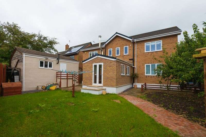 4 Bedrooms Detached House for sale in Ashurst Close, Skelmersdale