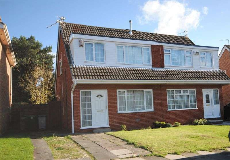 3 Bedrooms Semi Detached House for sale in Sycamore Avenue, Saughall Massie