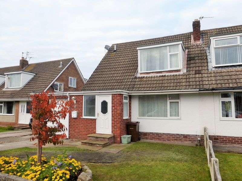 3 Bedrooms Semi Detached House for sale in Skipton Avenue, Crossens, Southport