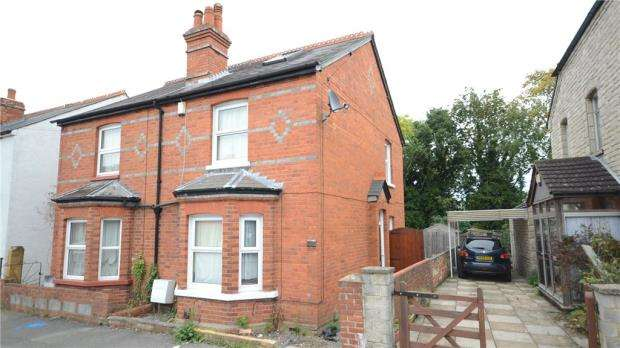 3 Bedrooms Semi Detached House for sale in Wykeham Road, Reading, Berkshire