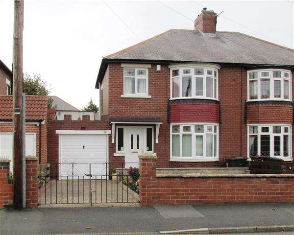 3 Bedrooms Semi Detached House for sale in Westlands, Newcastle upon Tyne
