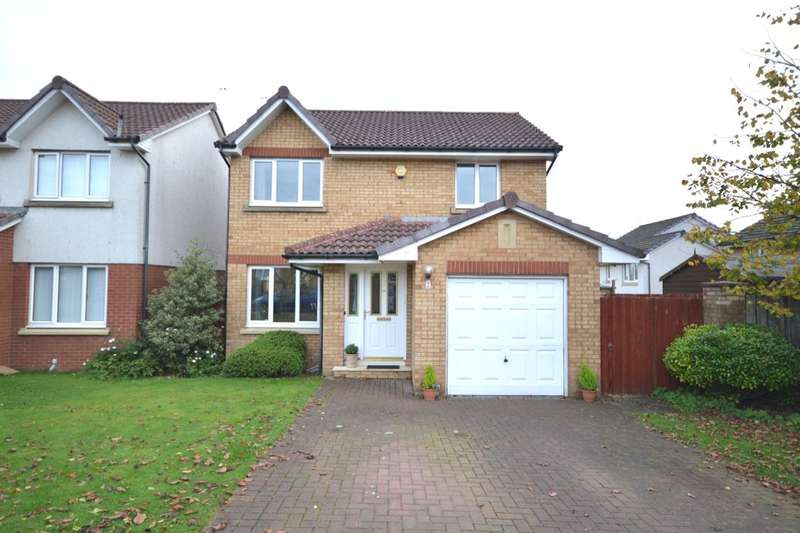 3 Bedrooms Detached House for sale in Fowler Crescent, Denny, FK6