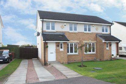 3 Bedrooms Semi Detached House for sale in Linum Grove, Kirkcaldy
