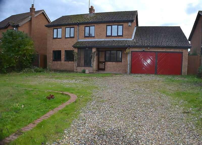 4 Bedrooms Detached House for sale in Little Holme Road, Walpole Cross Keys, King's Lynn