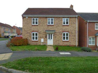 4 Bedrooms Detached House for sale in Bellflower Road, Hamilton, Leicester