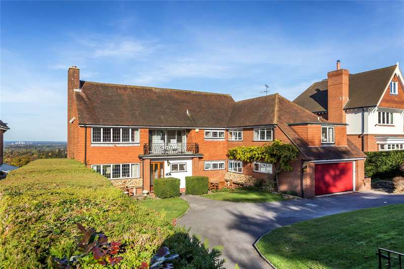 6 Bedrooms Detached House for sale in Downside Road, Guildford, Surrey, GU4