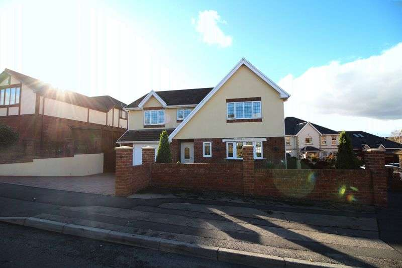 4 Bedrooms Detached House for sale in Gellideg Lane, Maesycwmmer, Hengoed, CF82