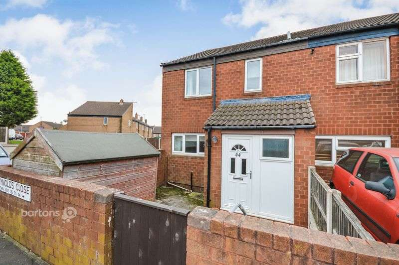 3 Bedrooms Terraced House for sale in Reynolds Close, Flanderwell, Rotherham