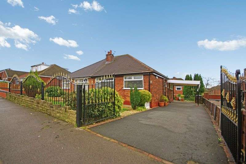 2 Bedrooms Semi Detached Bungalow for sale in Heathfield Drive Tyldesley M29 8WG