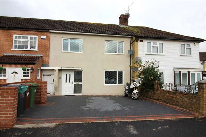 3 Bedrooms House for sale in Micklefield Way, Borehamwood, Hertfordshire, WD6