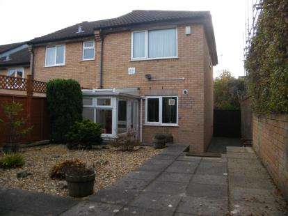 2 Bedrooms End Of Terrace House for sale in Glanville Gardens, Kingswood, Bristol