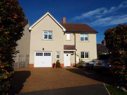 4 Bedrooms Detached House for sale in Stonegallows, Taunton