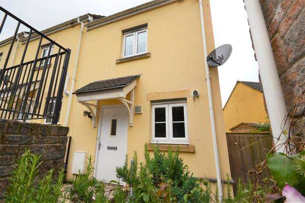 2 Bedrooms End Of Terrace House for sale in Lady Beam Court, Kelly Bray, Callington, Cornwall