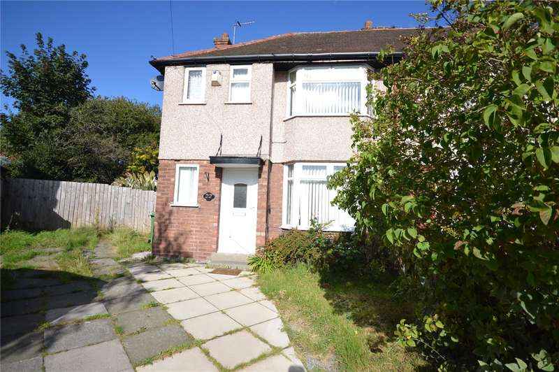 2 Bedrooms Semi Detached House for sale in Heyscroft Road, Woolton, Liverpool, L25