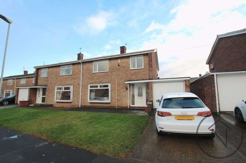 3 Bedrooms Semi Detached House for sale in Langley Road, Newton Aycliffe