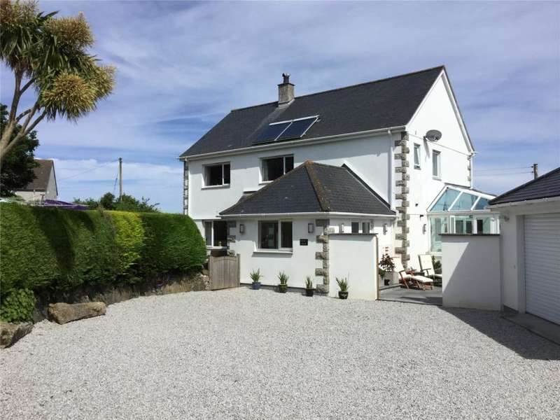 5 Bedrooms Detached House for sale in Higher Trewidden Road, St Ives, Cornwall