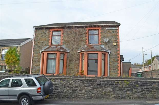 4 Bedrooms Detached House for sale in Foundry Road, Hopkinstown, Pontypridd, Mid Glamorgan