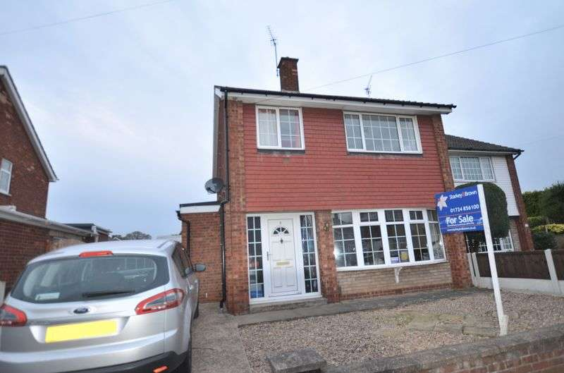 3 Bedrooms Semi Detached House for sale in Timberland, Bottesford, Scunthorpe