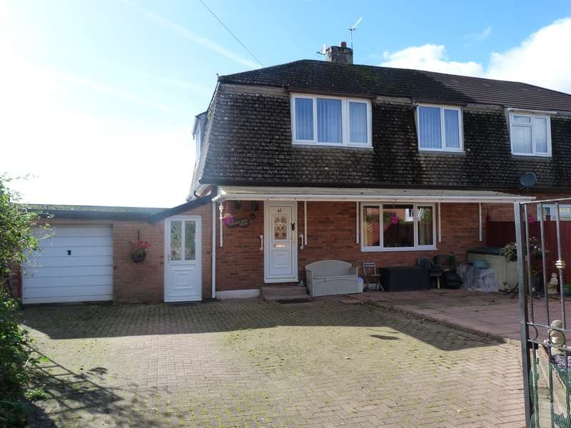 4 Bedrooms Semi Detached House for sale in Woodland View, Wyesham, Monmouth