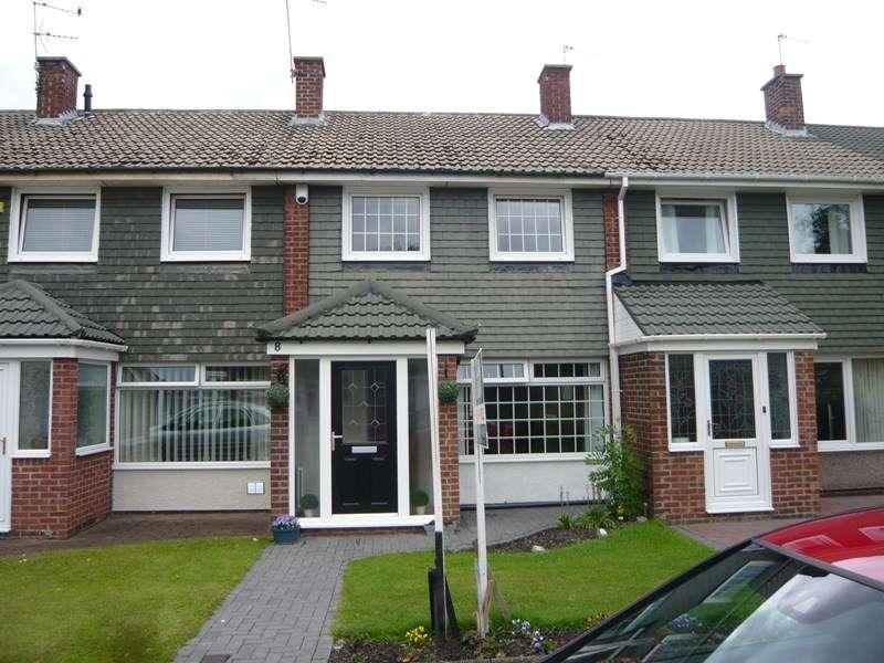 3 Bedrooms Terraced House for sale in Stephen Court, Jarrow
