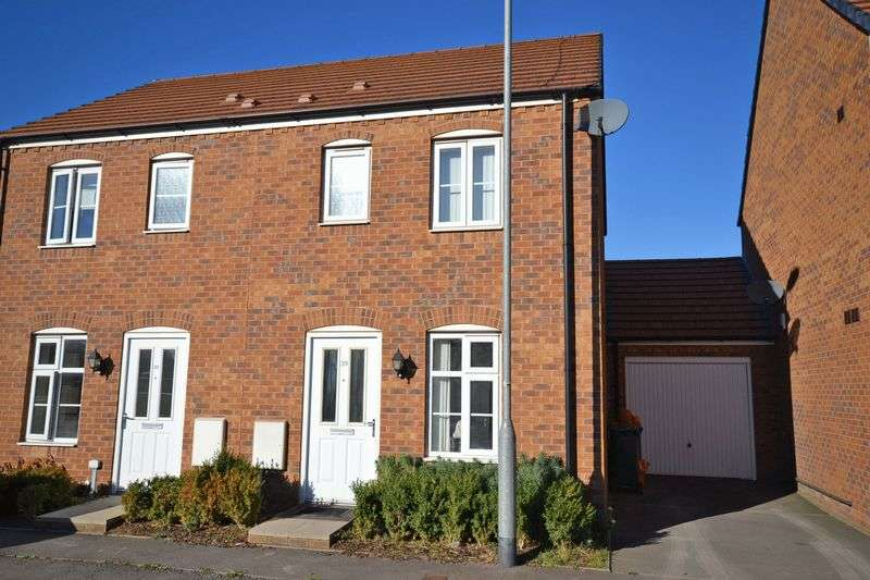 2 Bedrooms Semi Detached House for sale in Lysaght Avenue, Newport