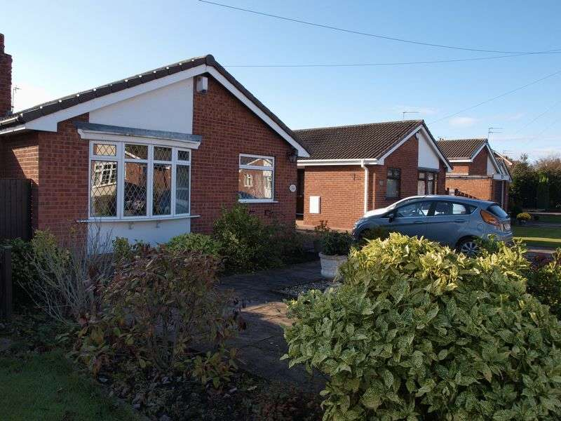 2 Bedrooms Detached Bungalow for sale in Milton Close, Wincham, CW9 6PR