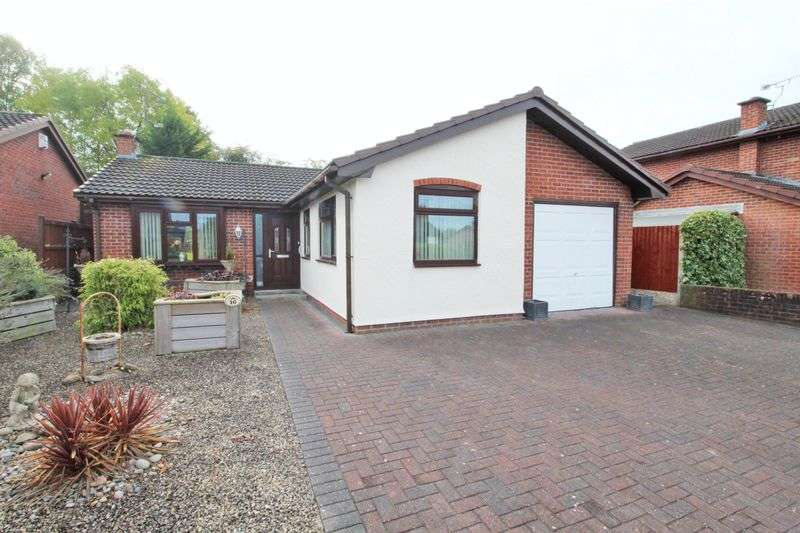 3 Bedrooms Detached Bungalow for sale in Abbey Gardens, Wrexham