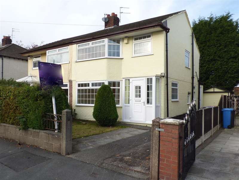 3 Bedrooms Semi Detached House for sale in Acacia Avenue, Huyton, Liverpool