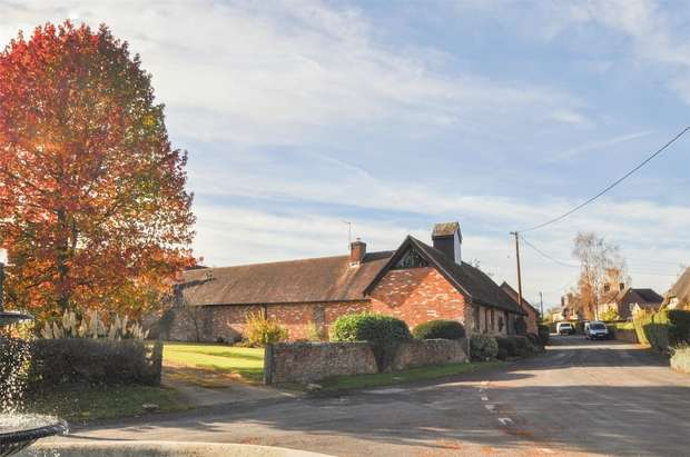 5 Bedrooms Detached House for sale in Old Manor Farm, Hinton Martell, Wimborne, Dorset