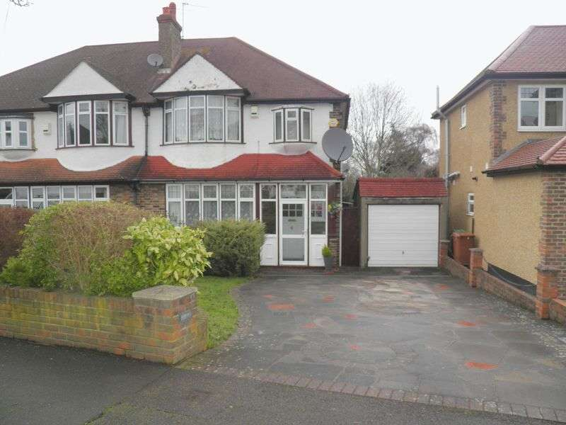 3 Bedrooms Semi Detached House for sale in East Drive, Carshalton Beeches