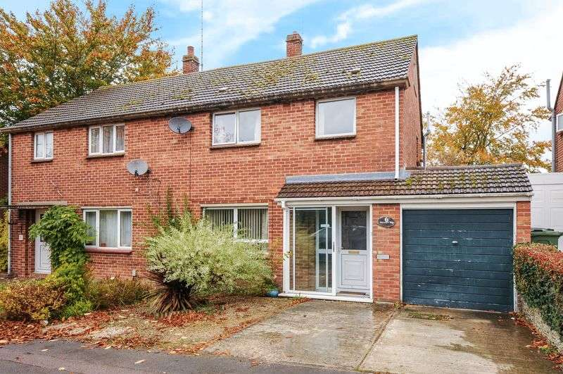 3 Bedrooms Semi Detached House for sale in Harcourt Way, Wantage