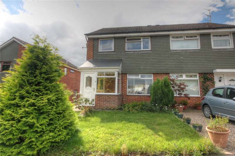 3 Bedrooms Semi Detached House for sale in Lancaster Close, Etherley Dene, Bishop Auckland, DL14