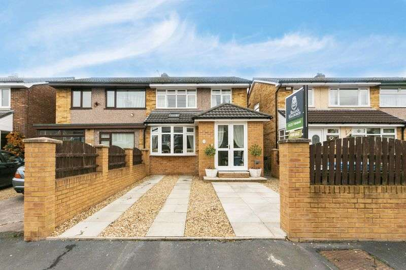 3 Bedrooms Semi Detached House for sale in Ashtrees, Mawdesley, L40 2RN