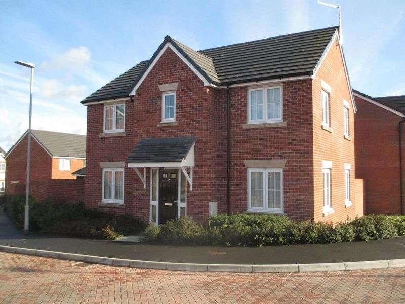 4 Bedrooms Detached House for sale in Harbin Close, Yeovil