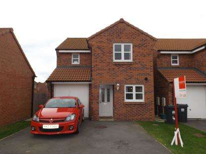 3 Bedrooms Detached House for sale in Nent Way, Darlington, County Durham