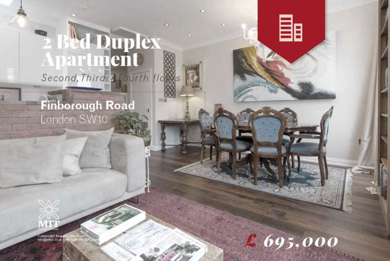 2 Bedrooms Flat for sale in Finborough Road, Chelsea