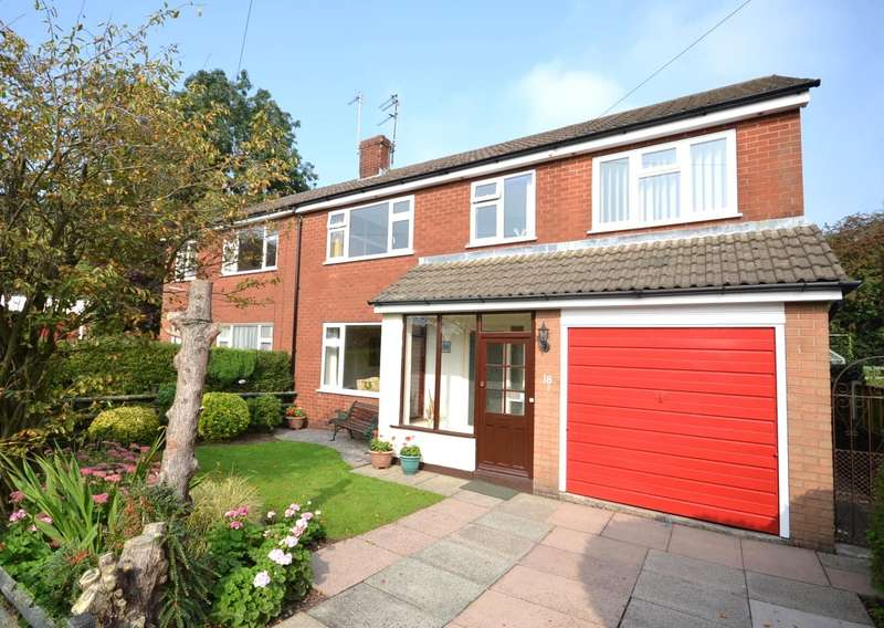 5 Bedrooms Semi Detached House for sale in Stamford Close, Macclesfield