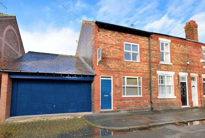 4 Bedrooms Terraced House for sale in Mitchell Street, Stockton Heath, WA4 6LS