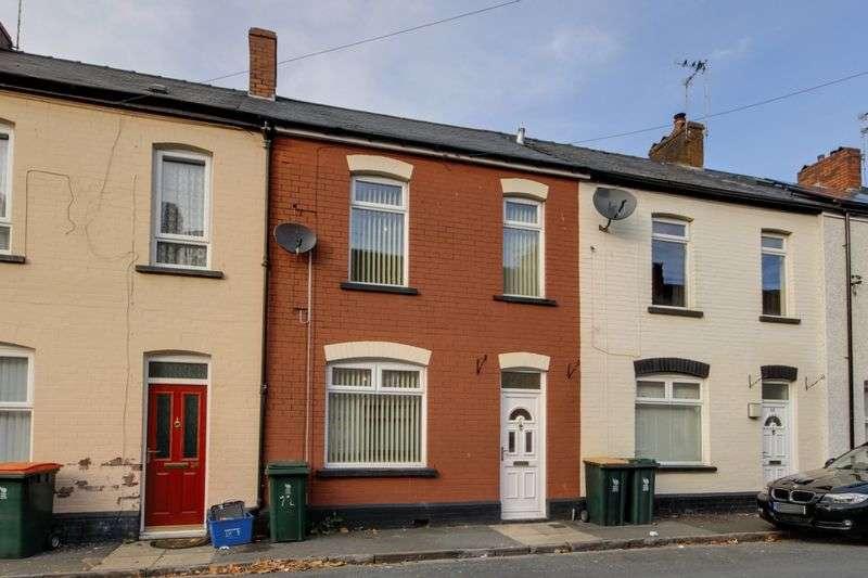 2 Bedrooms Terraced House for sale in Baldwin Street, Newport