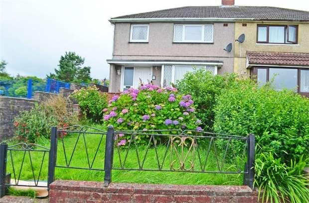 3 Bedrooms Semi Detached House for sale in Attlee Close, Cefn Golau, Tredegar, Blaenau Gwent