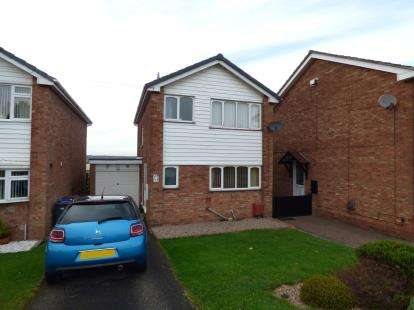 3 Bedrooms Detached House for sale in Ridgeway Road, Burton-On-Trent, Staffordshire