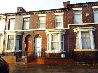 3 Bedrooms Terraced House for sale in Dombey Street, Liverpool, Merseyside, Uk, L8