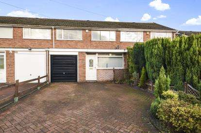 3 Bedrooms Terraced House for sale in Maxholm Road, Sutton Coldfield, West Midlands, .