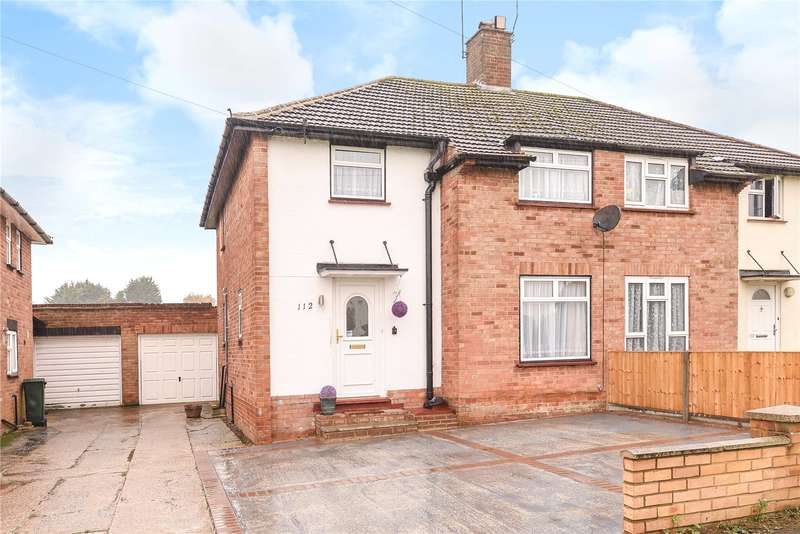 3 Bedrooms Semi Detached House for sale in Romilly Drive, Watford, Hertfordshire, WD19