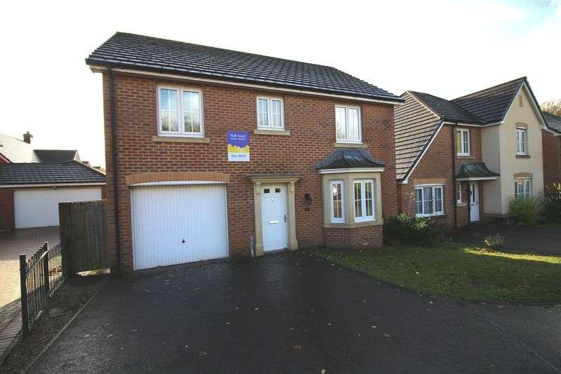 4 Bedrooms Detached House for sale in Cadwal Court, Llantwit Fadre, Church Village, CF38 2FA