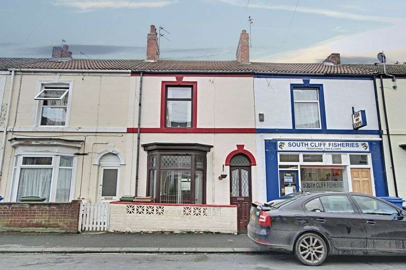 2 Bedrooms Terraced House for sale in South Cliff Road, Withernsea