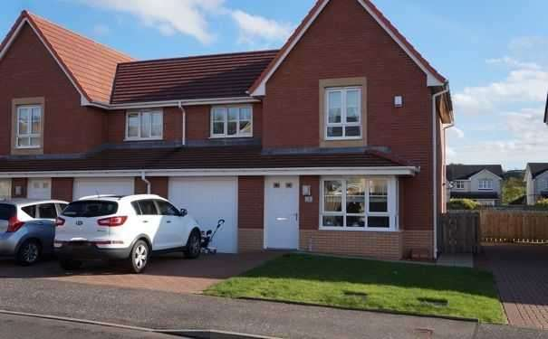 3 Bedrooms Semi Detached House for sale in Craigcrest Place, Cumbernauld, Glasgow