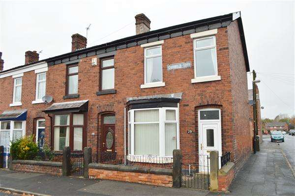 2 Bedrooms End Of Terrace House for sale in Garfield Terrace, Chorley, Chorley